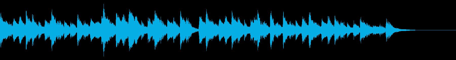 エルガー愛の挨拶~サンバカンソン風~の再生済みの波形