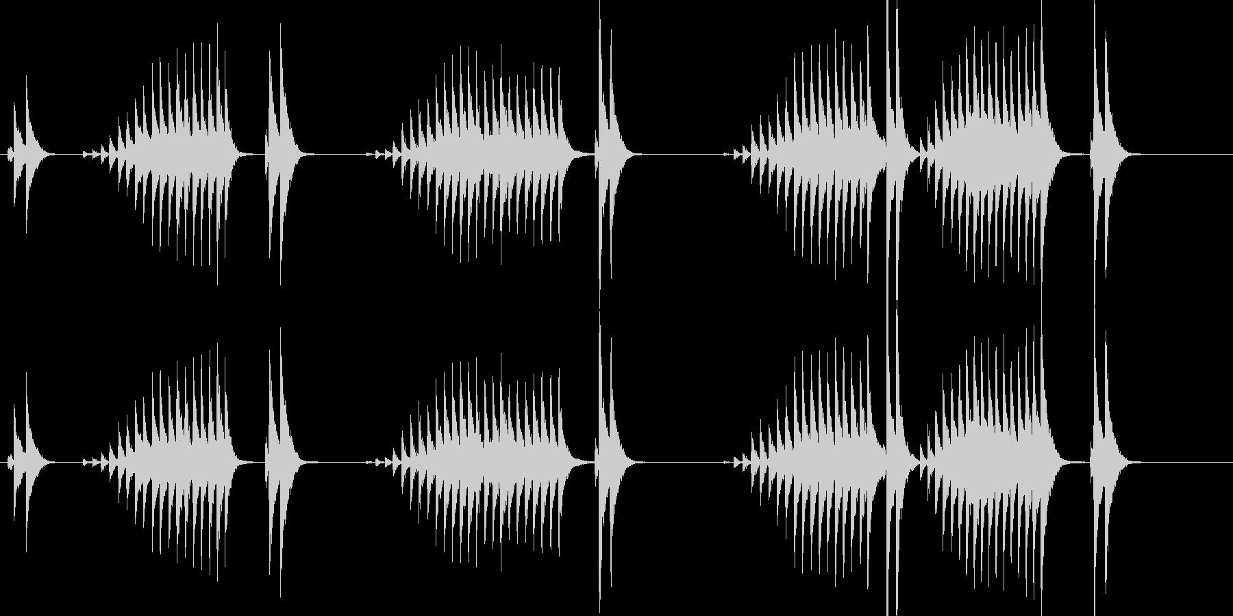 大太鼓18波音歌舞伎情景描写和風和太鼓江の未再生の波形