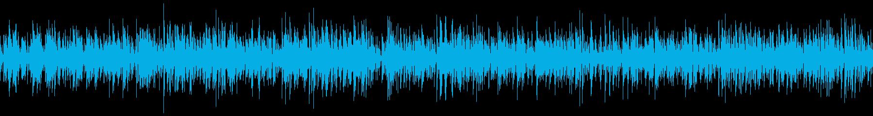 3分29秒のループ化ファイルです。の再生済みの波形