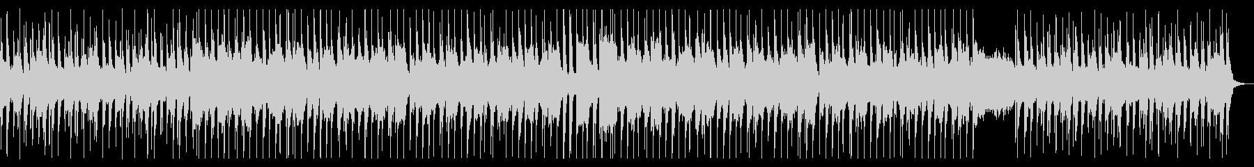 キャッチーで可愛らしいシャッフルポップスの未再生の波形