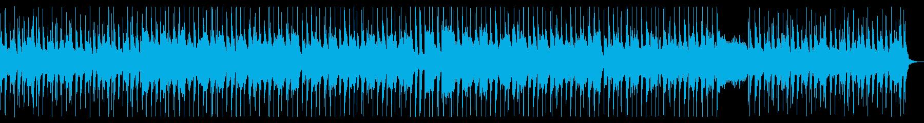 キャッチーで可愛らしいシャッフルポップスの再生済みの波形