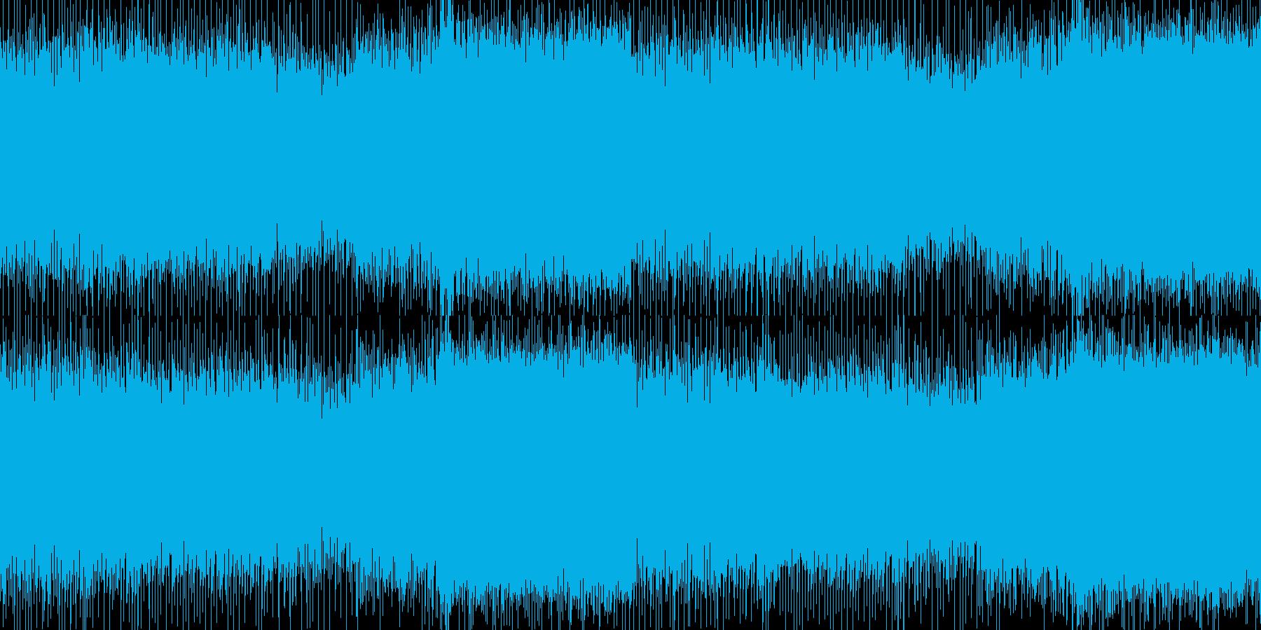疾走感のあるギターのバトルロックサウンドの再生済みの波形