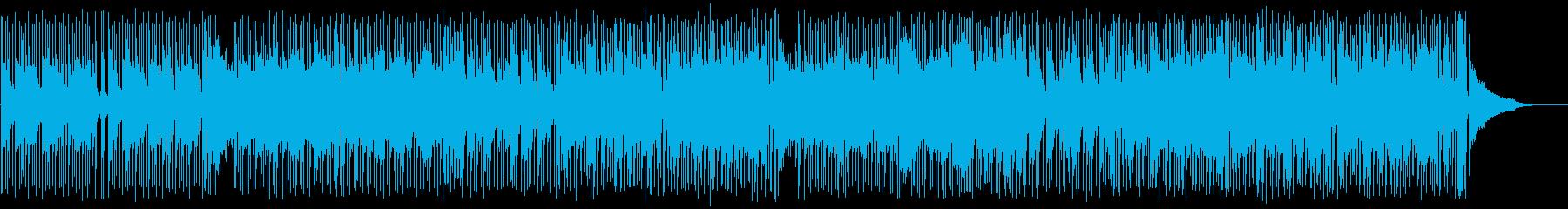 ガットギターを絡めたロックフュージョンの再生済みの波形