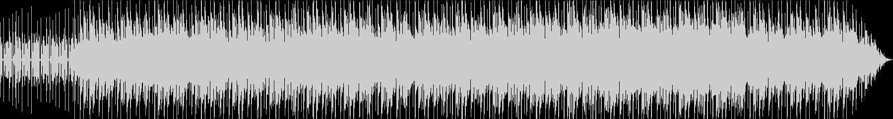 シンプルでゆったり爽やかな曲の未再生の波形