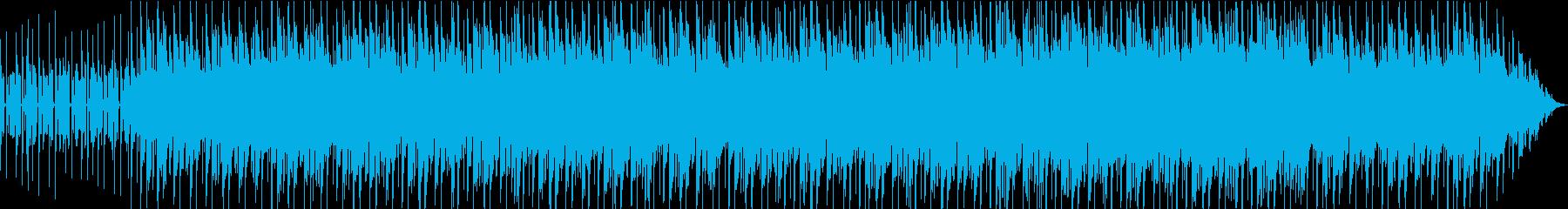 シンプルでゆったり爽やかな曲の再生済みの波形