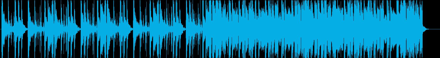 優しい/R&B_No435_3の再生済みの波形