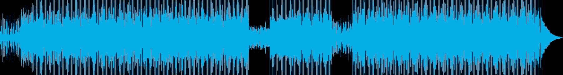 和カフェをイメージしたテクノ Cの再生済みの波形