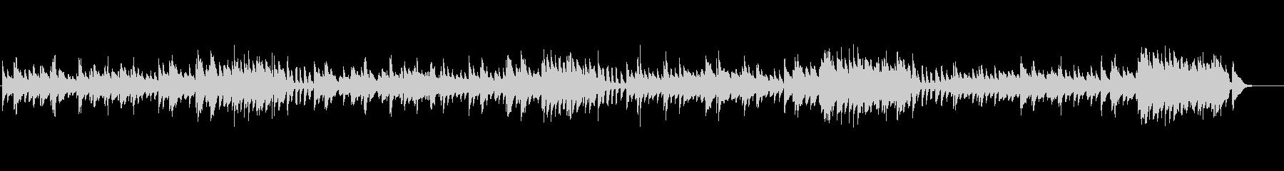 クラシックピアノ、チェルニーNo.62の未再生の波形