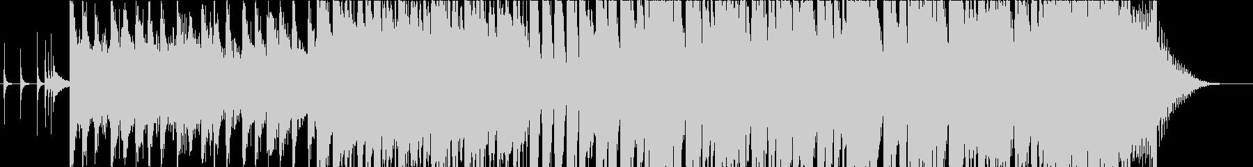 シンセポップでロックなバンドサウンドの未再生の波形