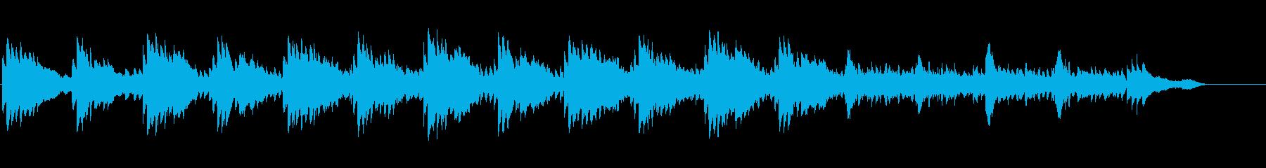 マッサージ、ヨガ、不思議、睡眠、ピアノの再生済みの波形