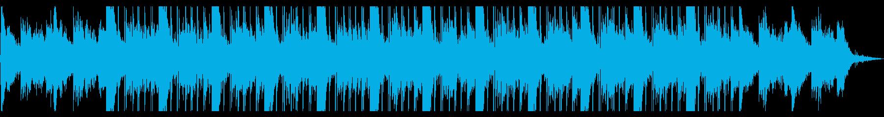 ピアノを使ったlo-fi hip hopの再生済みの波形