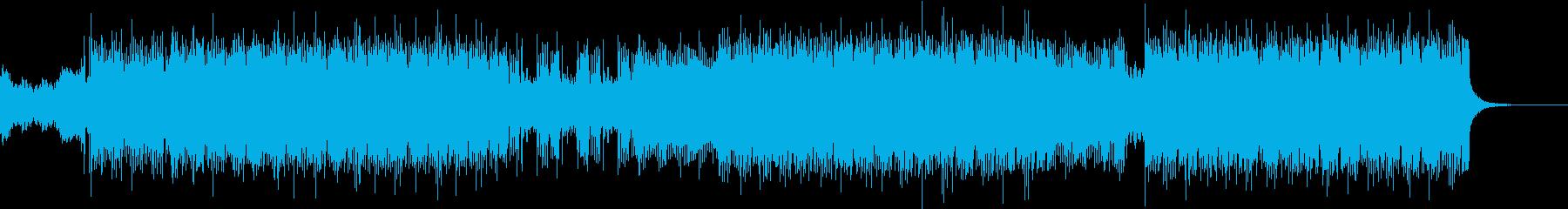 バトルシーンで使われるBGMの再生済みの波形