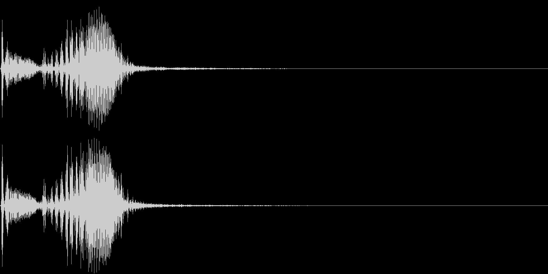 【生録音】フラミンゴの鳴き声 9の未再生の波形