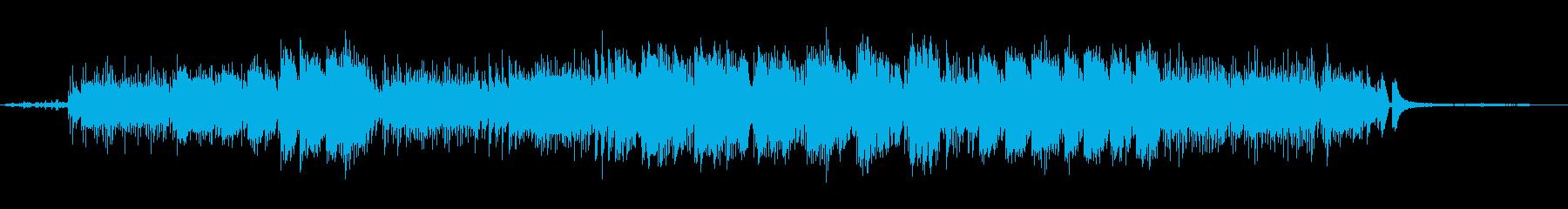 舟の再生済みの波形