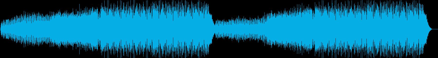 都会ドリーミーなEDMの再生済みの波形