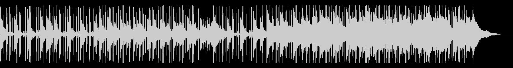 ピアノがオシャレなLo-Fiヒップホップの未再生の波形
