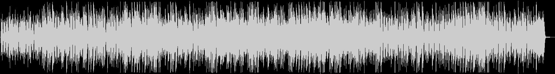 ピアノ・トリオNo.5/ストライドピアノの未再生の波形
