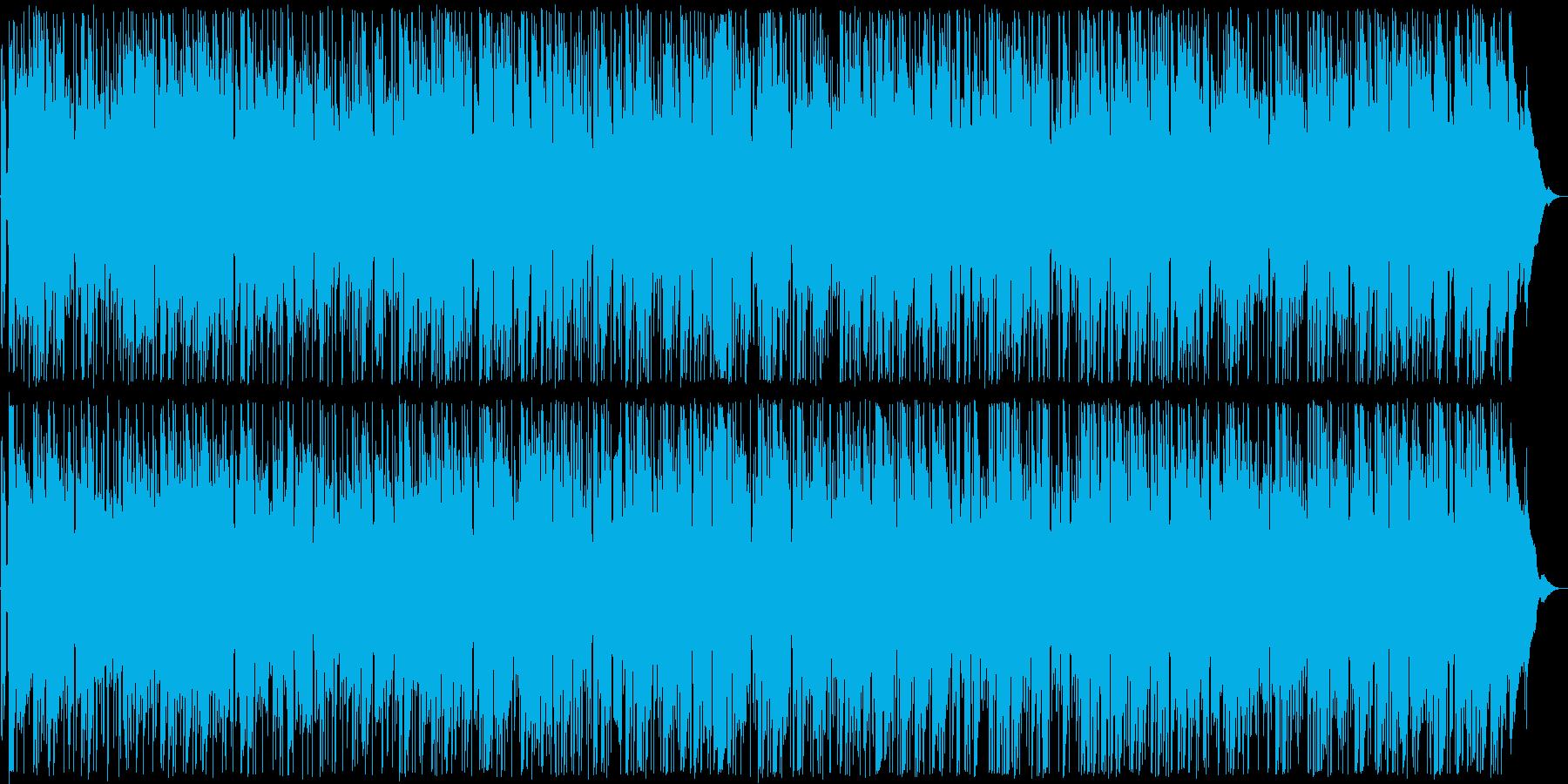 哀愁が漂うブルース調のギターサウンドの再生済みの波形