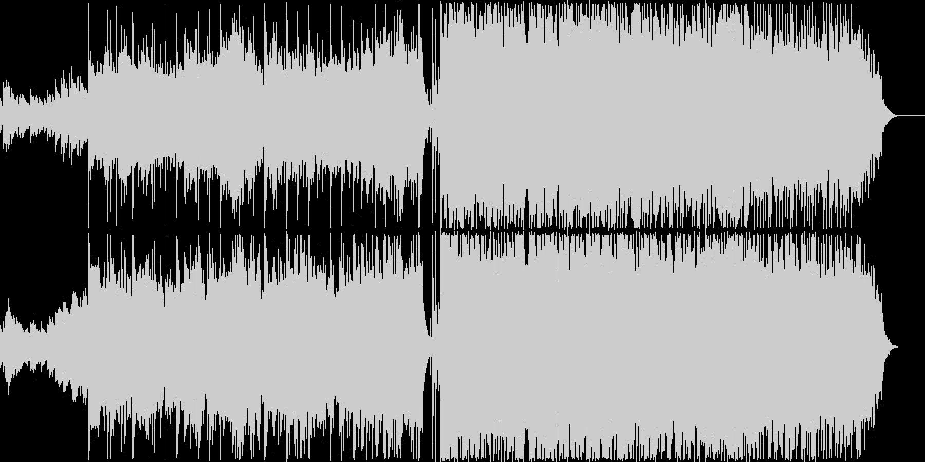 スタートを感じさせるPOPSの未再生の波形