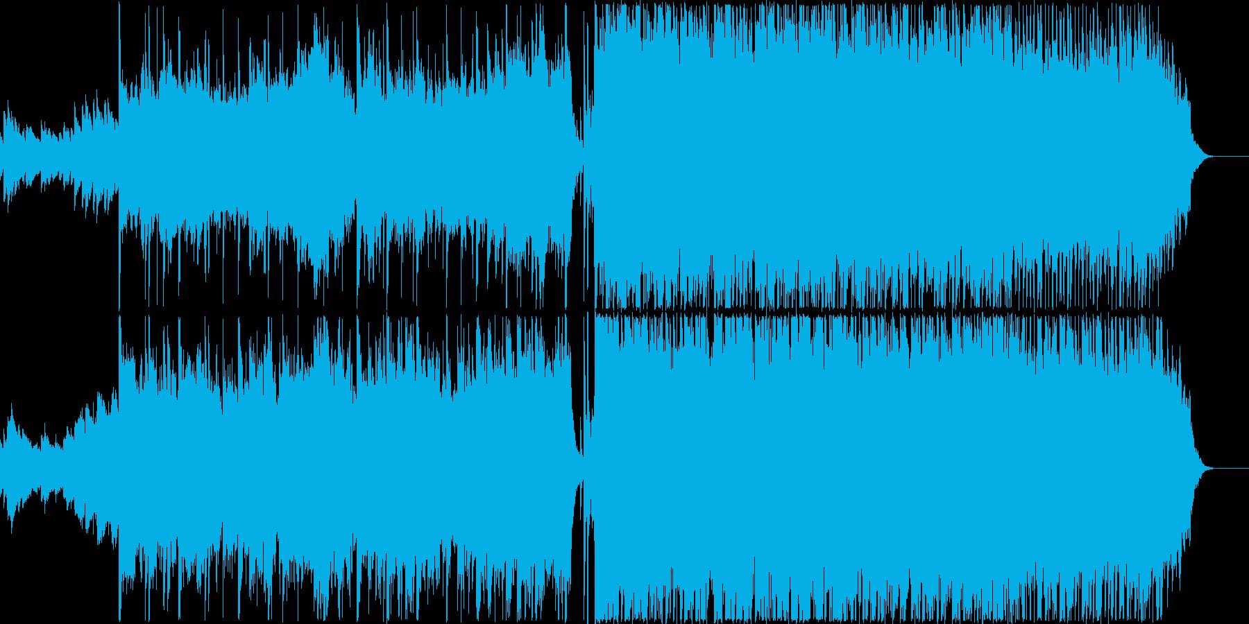 スタートを感じさせるPOPSの再生済みの波形