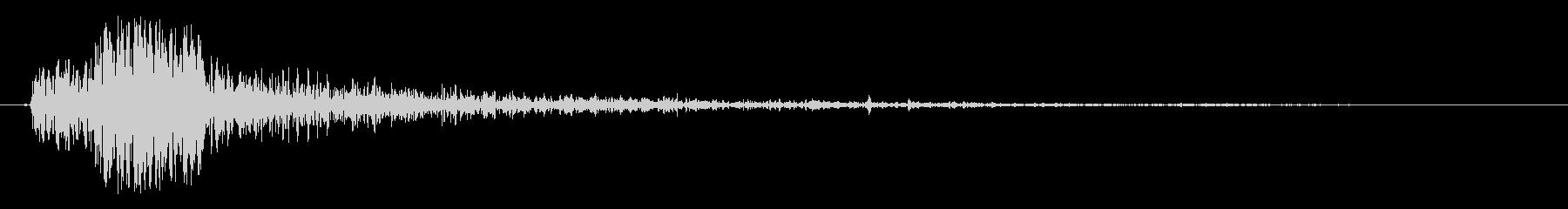 ディープブーミーエクスプロージョンの未再生の波形