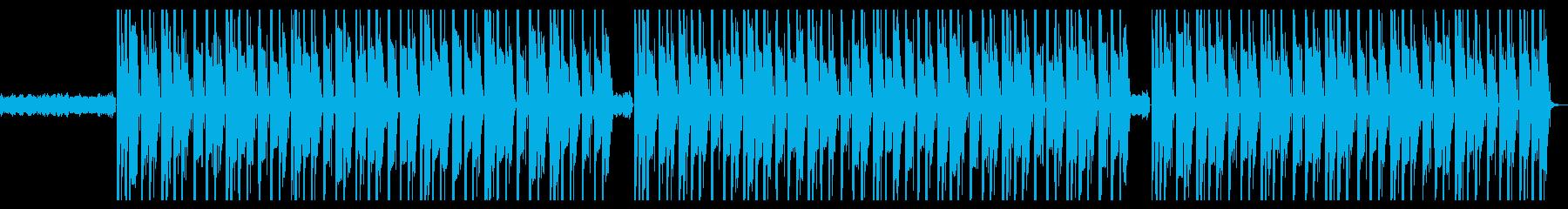 ダーク、ハード、ギター、ヒップホップの再生済みの波形