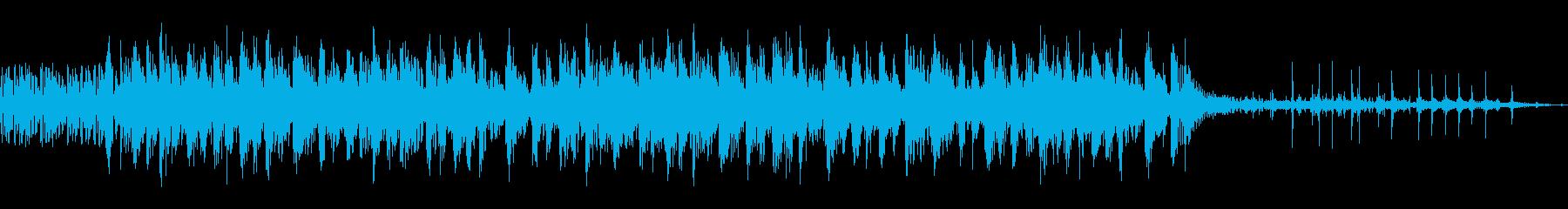 ラテンテクノアクセントの再生済みの波形