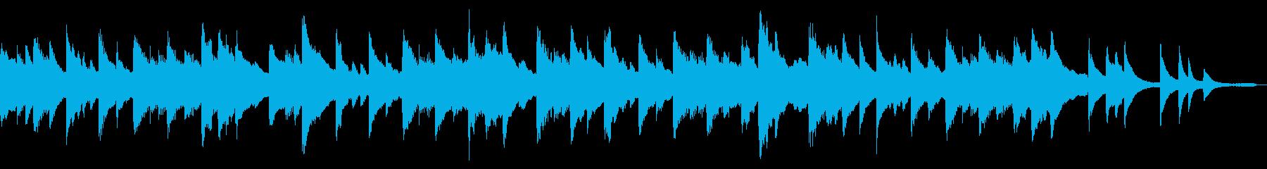 民謡や昔話をイメージした和風のピアノソロの再生済みの波形