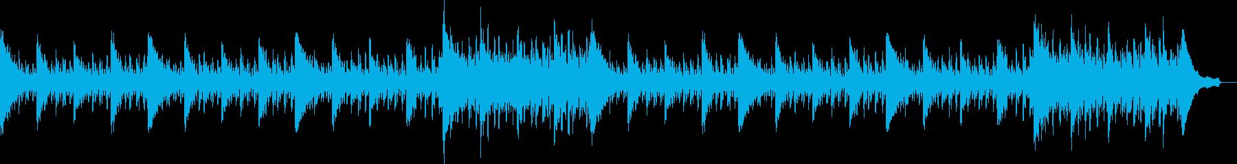 企業VP映像、130オーケストラ、爽快aの再生済みの波形