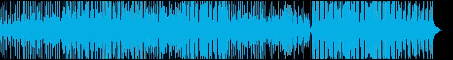 ポップ感動映像に ピアノで壮大おしゃれの再生済みの波形