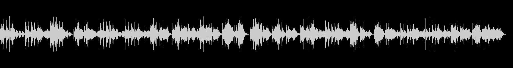 切ないハープのバラードの未再生の波形