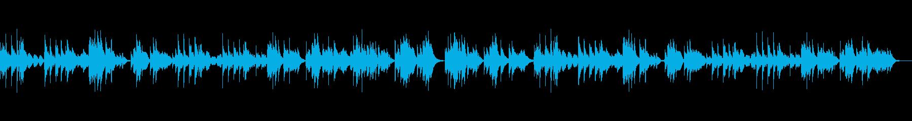 切ないハープのバラードの再生済みの波形