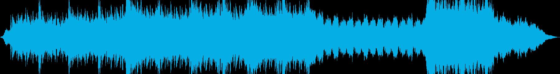 オーケストラ楽器。グランドスイーピ...の再生済みの波形