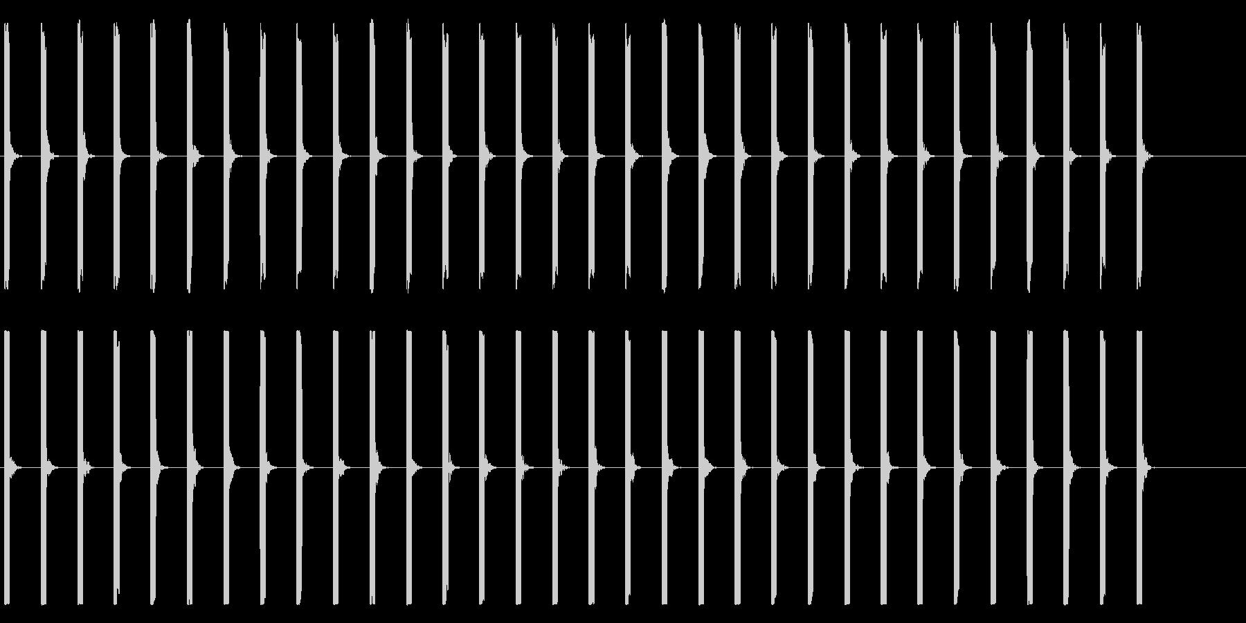 心電図の音-1-2(BPM50)の未再生の波形