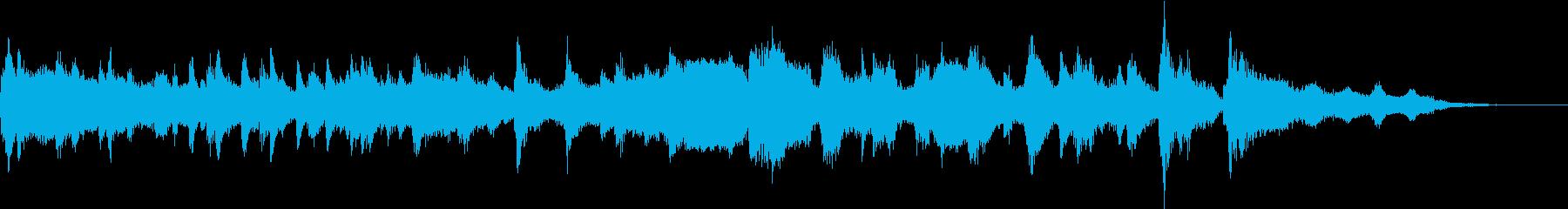 サルーンタグの再生済みの波形