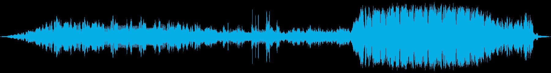映画  太いシンセ音 エピック バトルの再生済みの波形