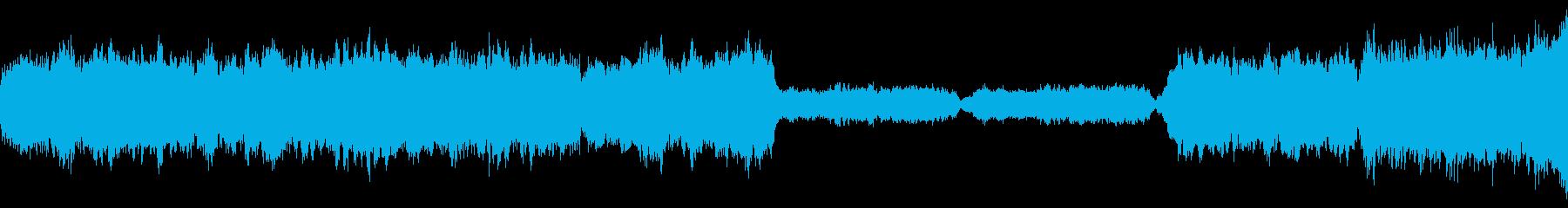 悲しいオーケストラの再生済みの波形