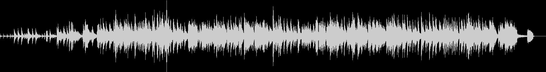 ピアノ ペットのJazzの未再生の波形