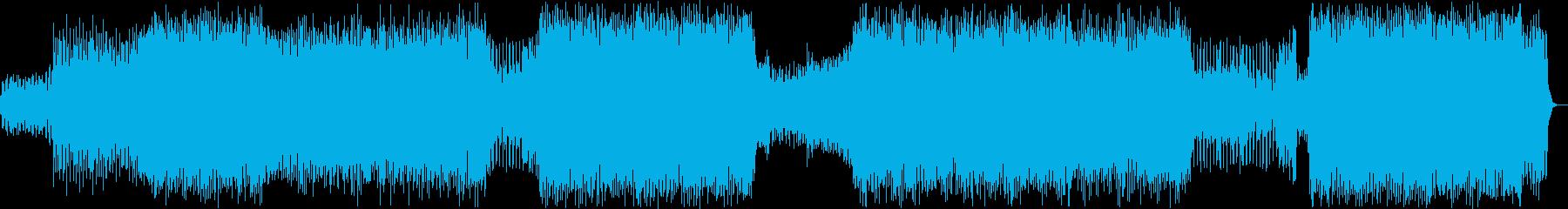 アコギ+EDM の再生済みの波形