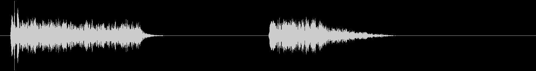 フレンチホーンジャンブル-2エフェ...の未再生の波形