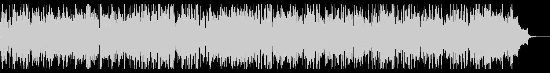 リズミカルなケルトバイオリンとアコギの未再生の波形