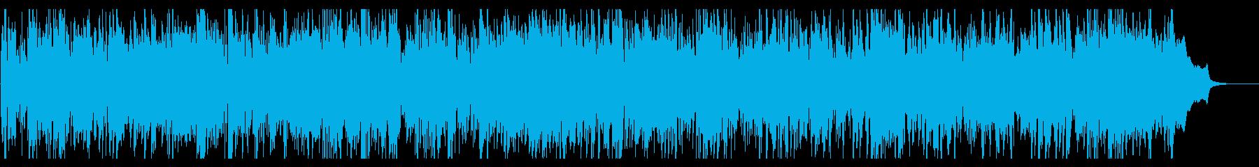 リズミカルなケルトバイオリンとアコギの再生済みの波形