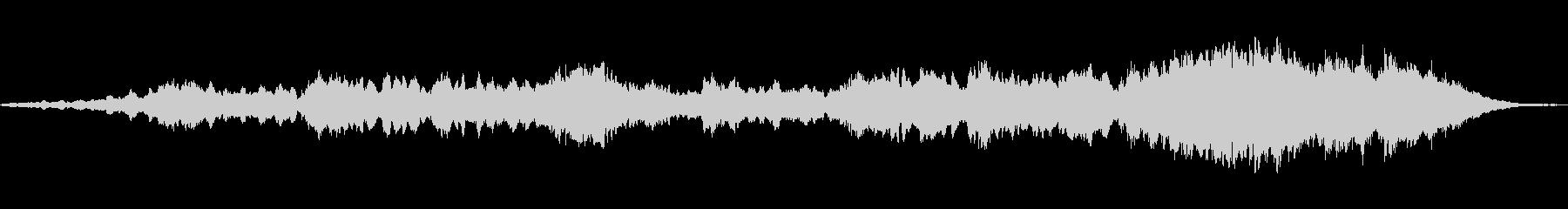 ブレードランナーのサウンドの未再生の波形