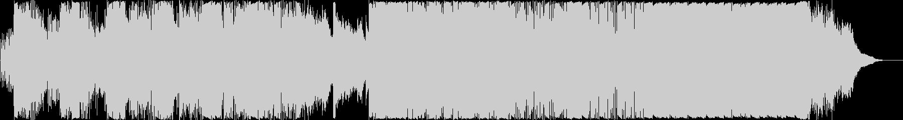 砂漠の街並みを描く特殊な旋法の民族音楽の未再生の波形