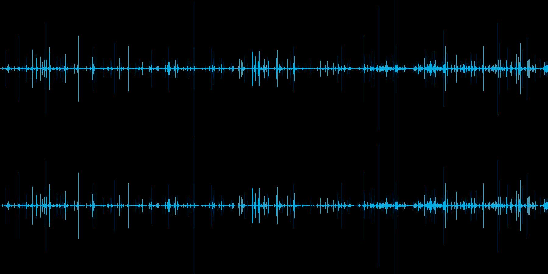 ループ・ネバネバしたものがうごめく音2の再生済みの波形