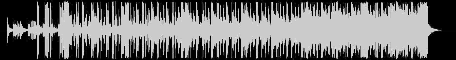 80sのエレクトロヒップホップの未再生の波形