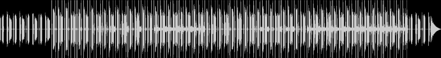 ゴスペル感・チルアウト・家カフェVlogの未再生の波形