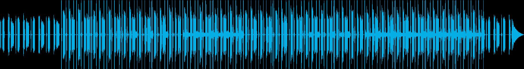 ゴスペル感・チルアウト・家カフェVlogの再生済みの波形