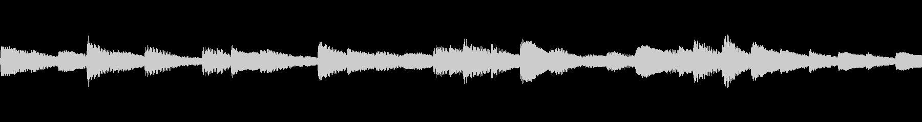 爽やかで少し切ないピアノBGMの未再生の波形