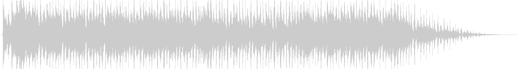 キラキラニャンニャンポップなバンドの未再生の波形
